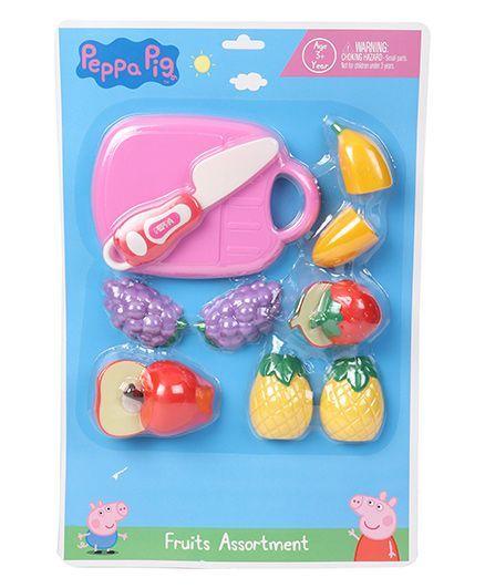 3c56d56f534d9 Peppa Pig Mini Fruit Set Multicolor Online India