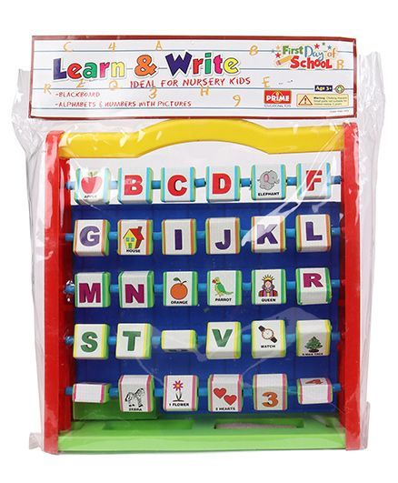 Prime Learning And Writing Board (Color May Vary)