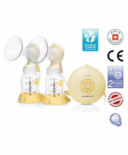 Medela Swing Maxi Double Electric Breast Pump Single Pack