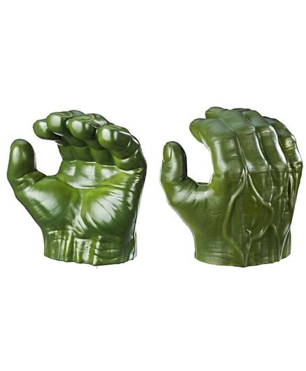 Marvel Avengers Hulk Gamma Grip Fists - Green (Packaging May Vary)