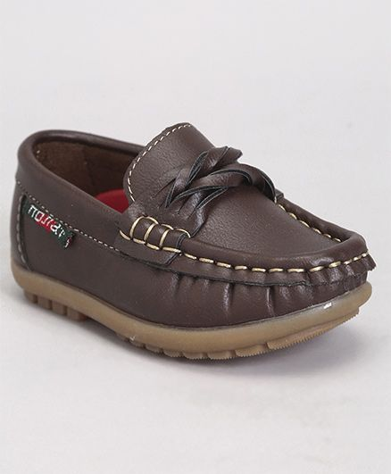 cee1875fda66 Buy Cute Walk by Babyhug Loafer Shoes Brown for Boys (2-2 Years ...