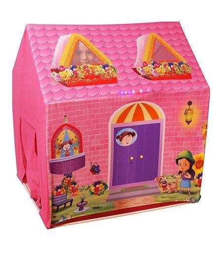 f21b78a4d Playhood LED Light Tent House Pink Online India
