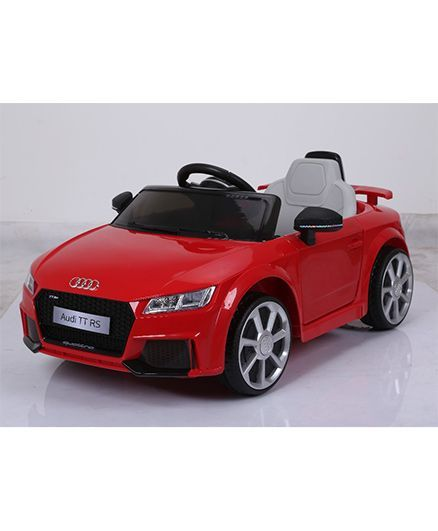 Marktech Audi Tt Rs Plus Battery Operated Ride On Car Red Online In India Buy At Best Price From Firstcry Com 1883691