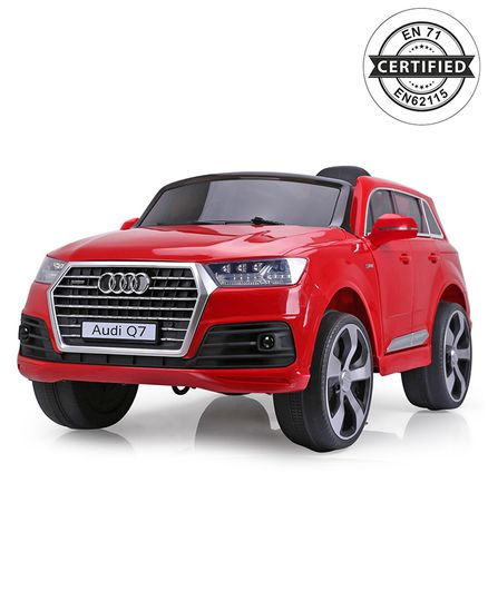 Audi Q7 Battery Operated Ride On Red Online in India, Buy at Best Price  from Firstcry com - 1893400