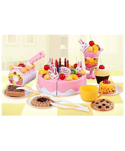 Webby Musical DIY Birthday Cake Toy Multicolor