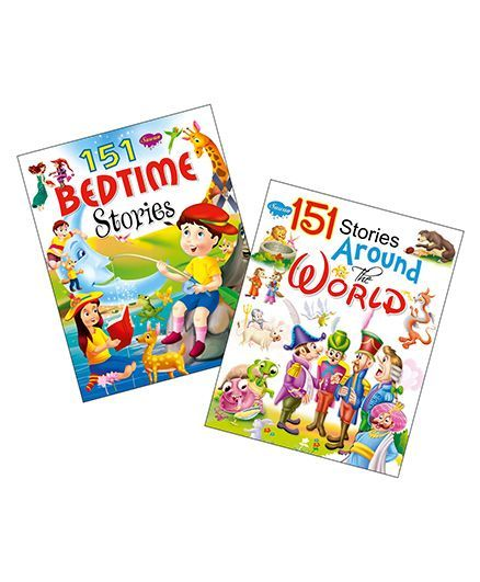 Sawan Story Book 151 Series Around The World & Bedtime Stories Set of 2 - English