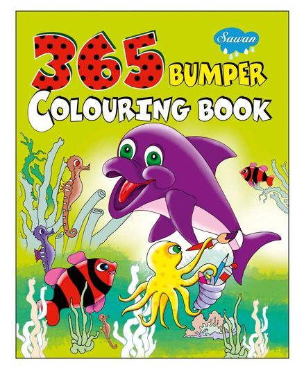 Sawan 365 Bumper Colouring Book English Online in India, Buy at ...