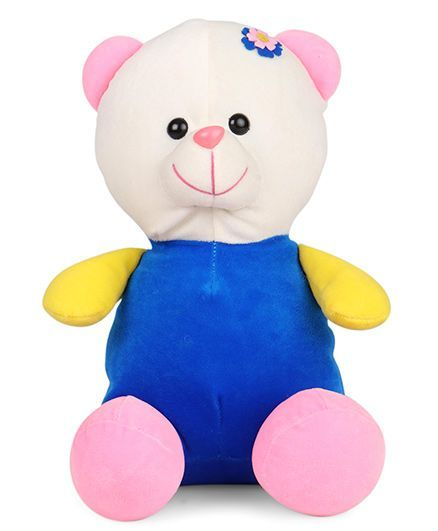 a36bbc00c Play Toons Teddy Bear Soft Toy Royal Blue Height 25 cm Online India ...