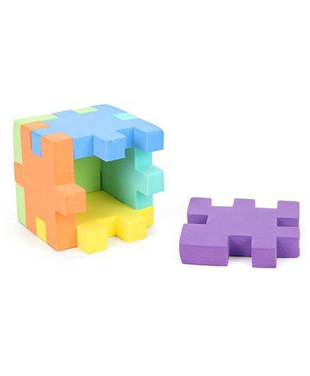 157d76f416c0c5 Funjoy 3D Cube Puzzle Multicolour Online India