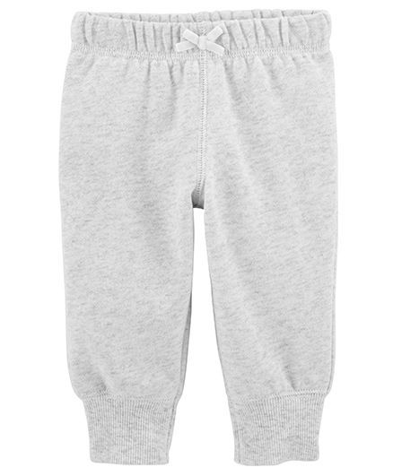 Buy Carters Pull On Pants Grey For Girls 6 9 Months Online In India