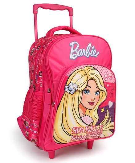 a794490492f Barbie Trolley School Bag 16 Inches Online in India