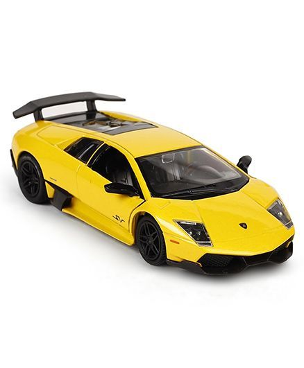 Rmz City Lamborghini Murcielago Pull Back Toy Car Yellow For 3 10