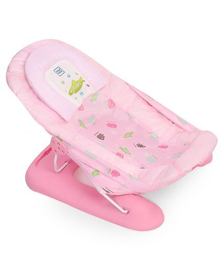 Mee Mee Anti-Skid Spacious Baby Bather - Pink