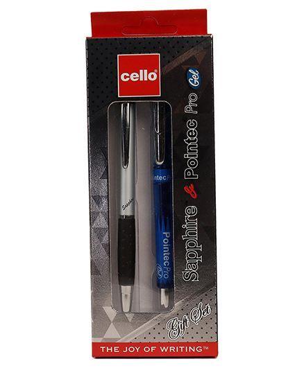 4d551c13cf1 Cello Sapphire Ball Pen   Pointec Pro Gel Pen (Color May Vary ...