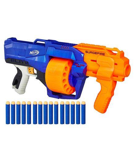 Nerf NStrike Surgefire Dart Gun Blue Orange Online India, Buy Toy Guns for  (8-12 Years) at FirstCry com - 1971700