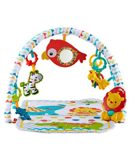 Fisher Price 3 in 1 Musical Activity Gym - Multi Color