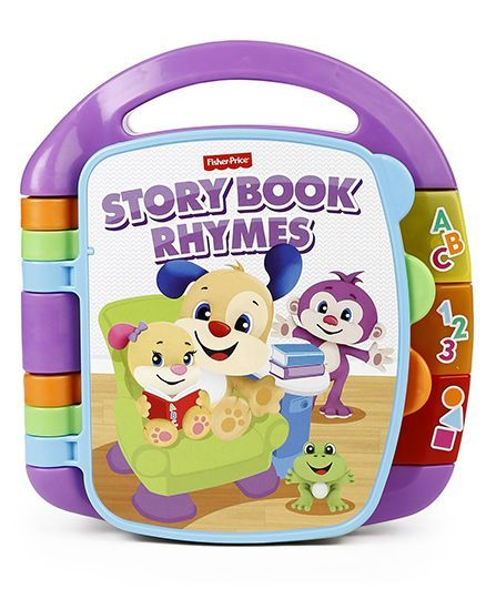 fdb1ce754 Fisher Price Storybook Rhymes Musical Toy Purple Online India, Buy ...