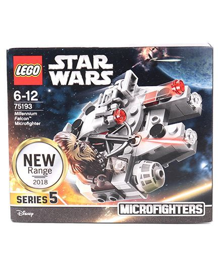 Lego Star Wars Millennium Falcon Micro Fighter Multicolor 92 Pieces 75193  Online India, Buy Building & Construction Toys for (6-12 Years) at