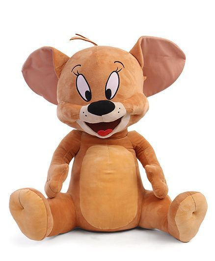 Jerry Mouse Plush Soft Toy Brown - Height 61 cm