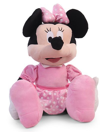 Disney Minnie Mouse Plush Toy Pink - Height 61 cm