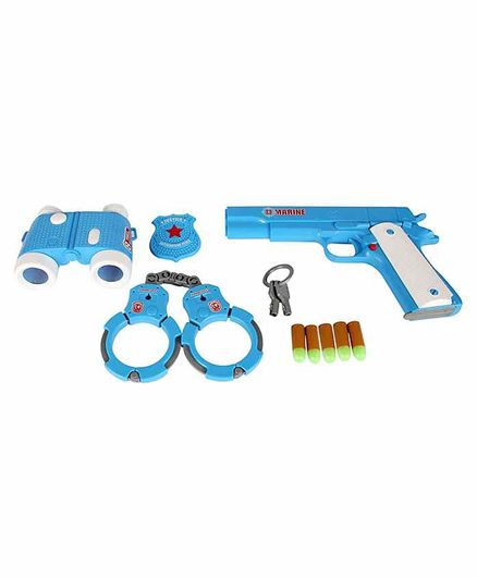 Planet of Toys Navy Officer Equipment Set Blue - Pack of 11