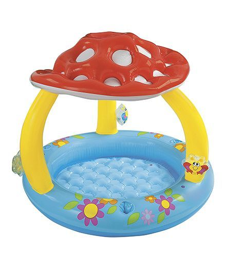 Intex Inflatable Mushroom Pool Multicolour Online India, Buy Outdoor Play  Equipment for (12 Months-3 Years) at FirstCry com - 2011957