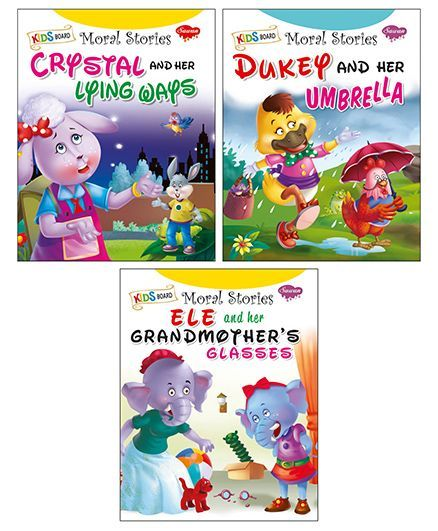 Sawan Kids Board Moral Story Book Pack of 3 English Online in India, Buy at  Best Price from Firstcry com - 2017814