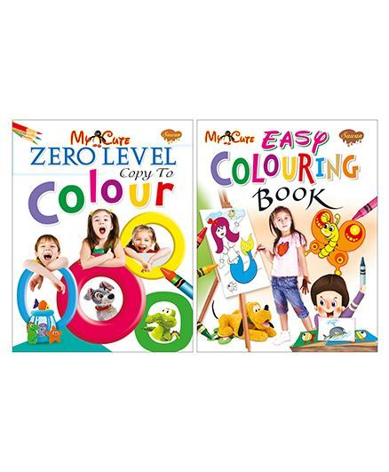 Sawan Zero & Easy Level Coloring Book Pack of 2 - English