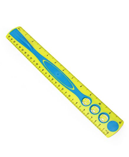 Maped Kidy Grip Ruler Yellow Blue - 30 cm