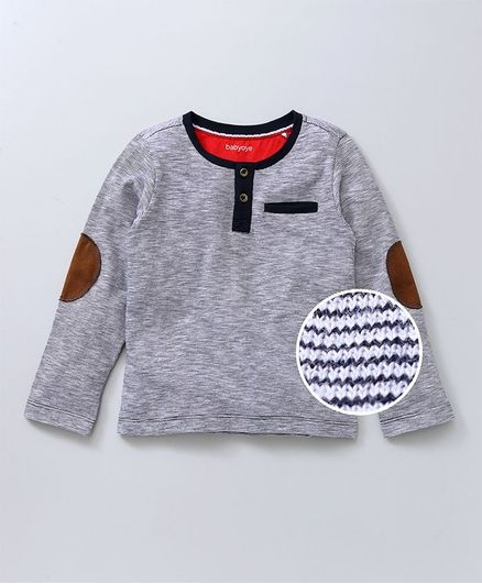 739abaf52b02d Buy Babyoye Full Sleeves Striped TShirt Navy for Boys (4-5 Years) Online in  India, Shop at FirstCry.com - 2062178