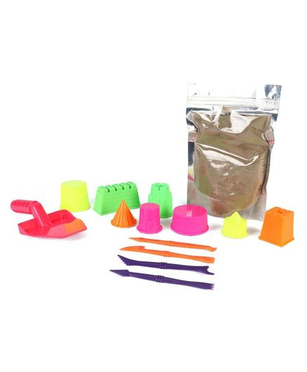 Ratnas Magic Sand Castle Kit (Color May Vary)