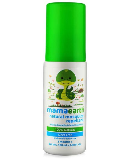 mamaearth Natural Mosquito Repellent Spray With Lemongrass Oil - 100 ml