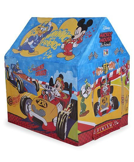 new styles 283e5 232a1 Disney Mickey Mouse & Friends Playhouse Pipe Tent Blue Yellow Online India,  Buy Outdoor Play Equipment for (3-5 Years) at FirstCry.com - 2079154
