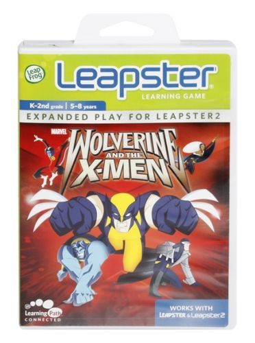Leap Frog - Leapster Learning Game - Marvel Wolverine And The X-Men