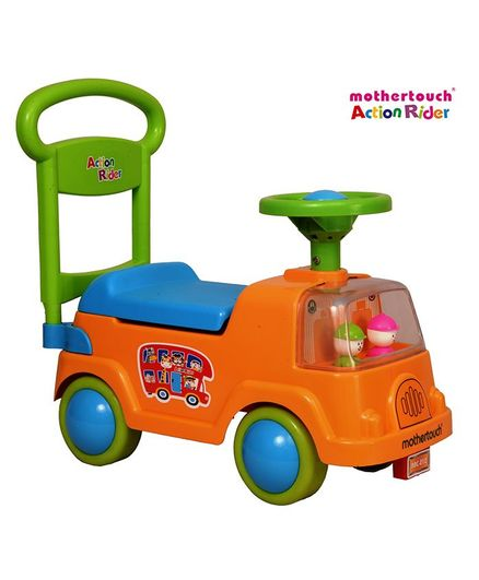 a53a2e2ec7f Mothertouch Manual Push RideOn Orange Online in India