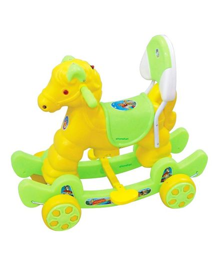 bbed833b Funride Murphy Musical Horse 2 In 1 Rocker Cum Ride On with Backrest