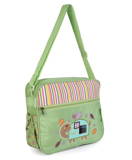 Fab-N-Funky Diaper Bag with Tortise Patch