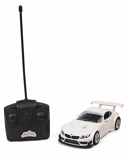 Mitashi Dash Die Cast Bmw Z4 Remote Control Model Car White