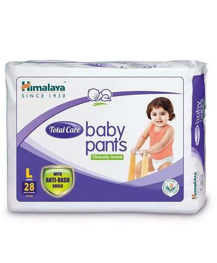 0f72c4c2644 Himalaya Herbal Total Care Baby Pants Style Diapers Large - 28 Pieces