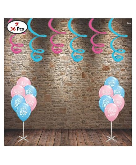 Party Propz Baby Shower Decoration Combo Pack Of 36 Online In