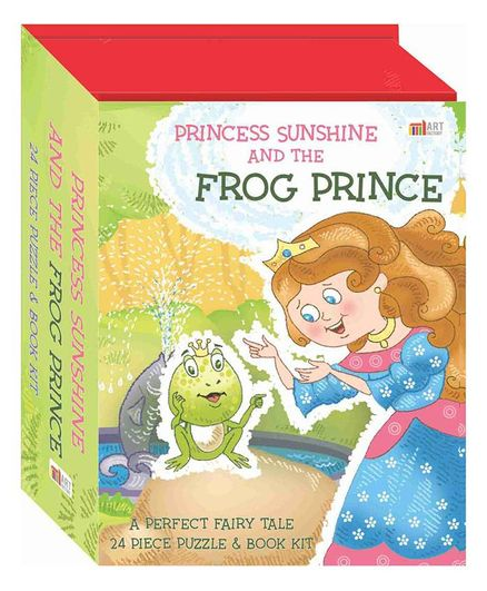 Princess Sunshine & The Frog Prince Puzzle & Book Set English Online in  India, Buy at Best Price from Firstcry com - 2150025