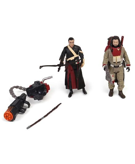 Star Wars Chirrut Imwe & Baze Malbus Multicolour - Height 10 cm