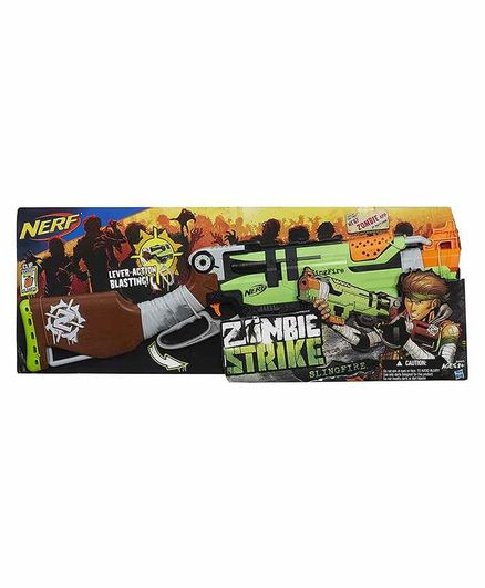 Nerf Zombie Strike Slingfire Green Online India, Buy Toy Guns for (8-12  Years) at FirstCry com - 2154489