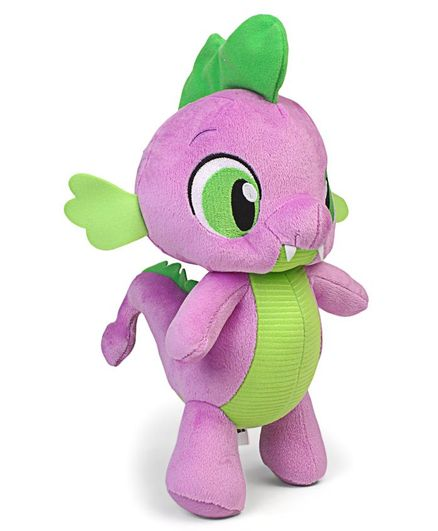 My Little Pony Spike Soft Toy Purple - Height 32.5 cm