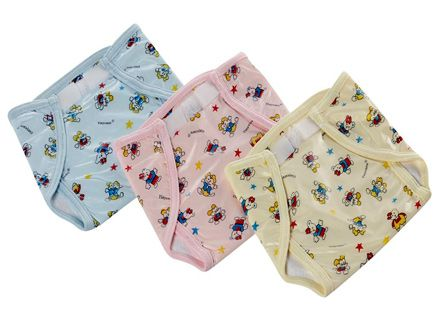 Tinycare Waterproof Nappy Small - Set of 3