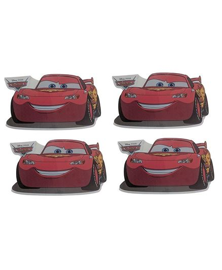 Party Anthem Disney Cars Racing Pixar Mcqueen Wall Stickers Pack Of 4