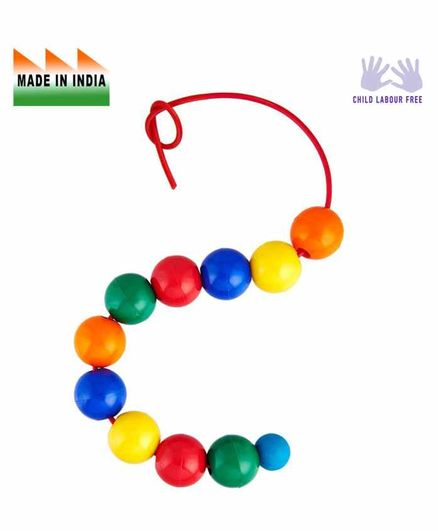 Eduedge Toy Big Beads Educational Toy - Multicolor