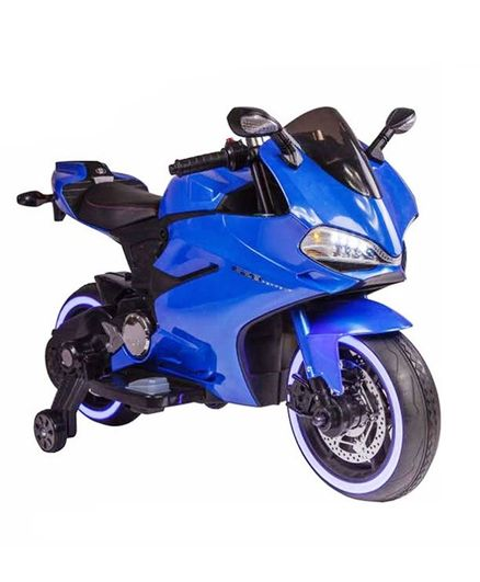 c04acd1b547 GetBest Battery Operated Bike Ride On Blue Online in India, Buy at ...