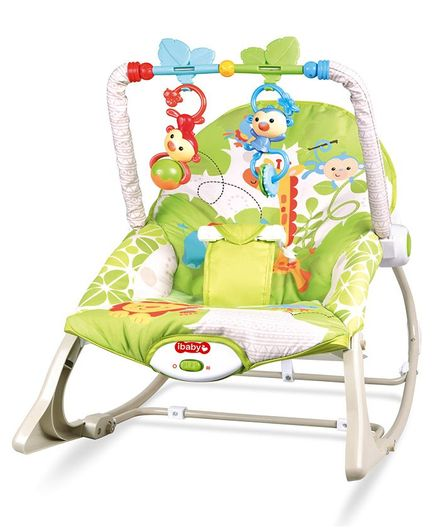 Baby Musical Rocker - Green