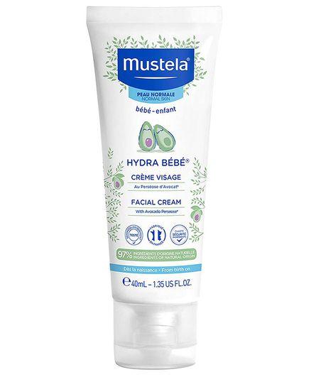 889df351f84 Mustela Hydra Bebe Facial Cream 40 ml Online in India, Buy at Best ...